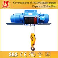 Wholesale Crane hometown remote control double speed cheap small electric hoist from china suppliers