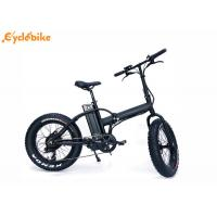 Wholesale 8FUN rear brushless geared motor 20'48V500W electric foldable bike with battery from china suppliers