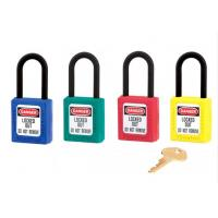 Wholesale CE Approval Plastic Safety Lock MASTER KEY SAFETY PADLOCK from china suppliers