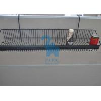 Grid Grocery Store Display Racks , Steel Wire Display Racks Hanging Basket