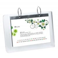 Wholesale 5mm OEM White Country Acrylic Calendar Holder / Plexiglass Desk Stand SGS from china suppliers