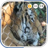 Quality High Quality 1.2 to 3.2 mm Thickness Stainless Steel Wire Rope Mesh Net As Zoological Enclosures for sale