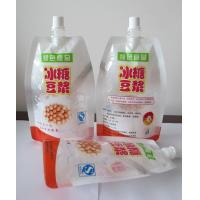 Wholesale High Barrier Stand Up Liquid Spout Bags With Spout For Soybean Milk from china suppliers