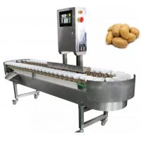 Wholesale Automatic Fruit Sorting Equipment , Small Fish Grading Machine Processing Line from china suppliers