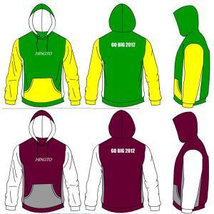 Wholesale Men Children - Adult Heat Transfer Custom Hooded Sport Wear 300gsm Cotton Fleece from china suppliers