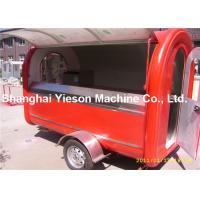 Wholesale American Standard Mobile Catering Trailers Strong Fiberglass Ice Cream Cart from china suppliers