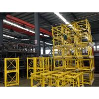 Wholesale Portable Construction Material Hoists / Passenger Hoist Green Yellow Customized from china suppliers