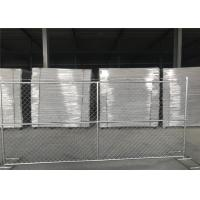 "Wholesale 8'x14' chain link fence panels 1⅜""(35mm) and 16gague wall thickness cross brace hot dipped galvanized be 2.0 oz/ft2 from china suppliers"