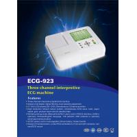 China THREE CHANNEL INTERPRETIVE ECG MACHINE BAICHENG ECG-923 on sale