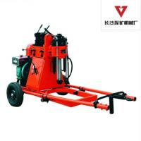 Wholesale 100m Diesel Rotary Core Drill Rig With Mud Pump , 100mm Diamond Core Drill from china suppliers