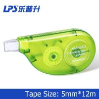 Wholesale Customized PS Green Colored Correction Tape Staples Correction Tape 90277 from china suppliers