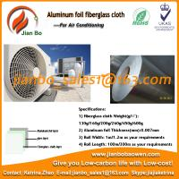 Quality Air conditioning use Aluminum foil fiberglass cloth for sale