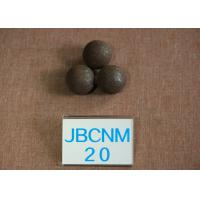 D 20mm Grinding Media Balls / Carbon Steel Ball for Copper Mining High Hardness 62-63HRC