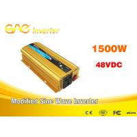 Wholesale Dc To Ac Off Grid Car Power Inverter 1500w 24v 110V 220v Single Phase Inverter from china suppliers