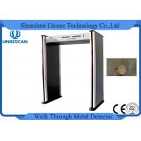 Wholesale 67KG Metal Scanner Detector , Security Walk Through Gate PVC Synthetic Material from china suppliers