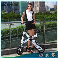 Wholesale Light Weight Foldable Electric Bicycle with Seat , Electric Bike Kit Lithium Battery from china suppliers