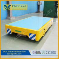 Wholesale 3 ton easily operate electric flatbed car running on the cement floor from china suppliers