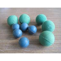 Wholesale 2 - 6 Inch Dia Ball Shaped Sponges , Concrete Pump Hose Cleaning Soft Rubber Foam Ball from china suppliers