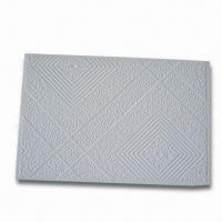 Wholesale PVC Laminated Gypsum Board with 7.0 to 12.0mm Thickness, Quakeproof and Noxious-free from china suppliers