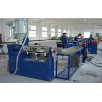 Wholesale Spiral Plastic Pipe Extrusion Line , EVA Vacuum Cleaner Hose Extruder Equipment from china suppliers