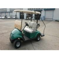 Wholesale Green Color Small 2 Seater Electrical Golf Carts With Lights For Golf Club / Courses from china suppliers