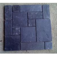 Wholesale Natual Black Slate Flagstone Wall Dark Grey Slate Patio Flooring Pavers Slate Paving Stone from china suppliers