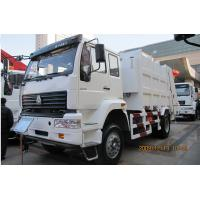 Wholesale Sanitation Garbage Compactor Truck 14 to 16 cbm 6X4 , Waste Collection Trucks EuroII With Italy Pto from china suppliers