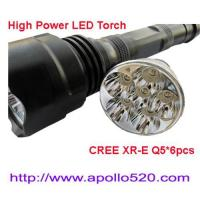 Buy cheap 1500Lumens High Power CREE Q5 LED Torch from wholesalers