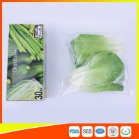 Wholesale Resealable LDPE Clear Ziplock Freezer Storage Bags For Vegetable Biodegradable from china suppliers