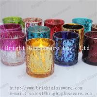 Wholesale hot sale decorative tea light glass candle holder supply from china suppliers