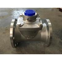 China Large Diameter Woltman Water Meter With Stainless Steel Material on sale