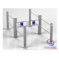 Wholesale Automatic Flexible Running Swing Turnstile Durable Stainless Steel for Stores , Supermarket from china suppliers