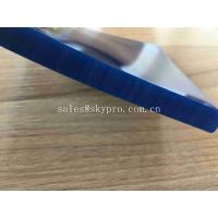Wholesale 4.5mm Thickness Skirting Board Rubber High Wear Resistant Conveyor Belt Flat Rubber Side Seal PU Conveyor Material from china suppliers