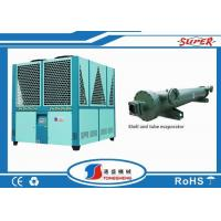 Wholesale Plastic Recycling Line Packaged Air Cooled Chiller , Air Cooled Water Chiller from china suppliers