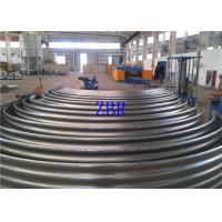 Buy cheap PLC Actomatical Control Steel Silo Forming Machine , Corrugated Sheet Roll Forming Machine from wholesalers
