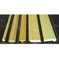 Quality Vertical Natural Bamboo Stair Tread And Riser for sale
