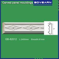Wholesale High density polyurethane foam panel mouldings various designs 47mm width color customized OEM cervice from china suppliers