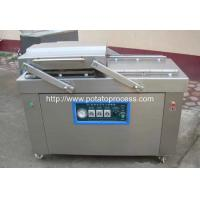 Wholesale French Fries Double Chamber Vacuum Packing Machine from china suppliers