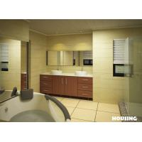 Wholesale Plywood / MDF Modern Bathroom Cabinets Vanities with White Color from china suppliers