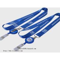 Wholesale Cheap Exibition Meeting Dye Sublimation Lanyard, Promotion Business Neck Lanyards, Cheap Lanyard Direct Maker from china suppliers