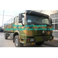 Wholesale Military 4 x 4 Heavy Cargo Trucks All Wheel Drive With EURO III Emission Standard from china suppliers