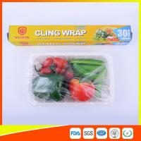 Wholesale Food Safe Kitchen PE Cling Film Wrap Jumbo Roll For Food Packaging from china suppliers