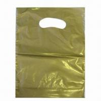 Buy cheap Patch Handle Plastic Bag, Available in Different Colors from wholesalers