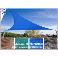 Wholesale NEW GREEN AND BEIGE TRIANGLE SUN SHADE SAILS ALL SIZES from china suppliers
