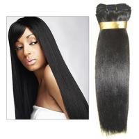 Wholesale Pretty long remy weft wigs with mixed raw material from china suppliers