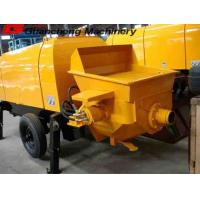 Wholesale PLC Control Mobile Concrete Pump with Small Size Aggregate Output 30m3 per hour HBT30 from china suppliers
