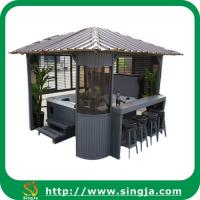 Wholesale Fashionable Wooden Gazebo Outdoor Hot Tub Gazebo(WG-10) from china suppliers