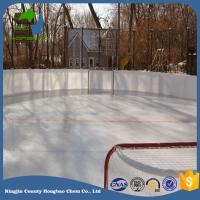 Quality Dovetail Connection Hdpe Material Synthetic Hockey Shooting Pad Smooth Surface Ice Rink Panel for sale