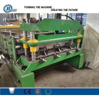 Wholesale 0.8-1.2mm Thickness 30Kw Auotomatic Galvanized Steel Floor Decking Roll Forming Machine from china suppliers
