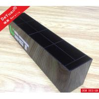 Wholesale Black Acrylic Stationery Holder Display Plastic Pen Organizer With Logo from china suppliers